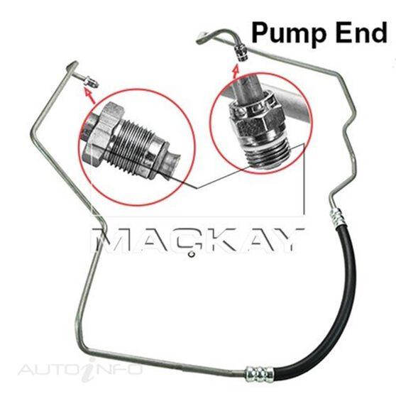 Power Steering Hose - Pressure - Ford AU1 (V8), , scaau_hi-res