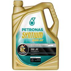 SYNTIUM 5000 AV 5W30 5 LITRE ENGINE OIL PLASTIC BOTTLE, , scaau_hi-res