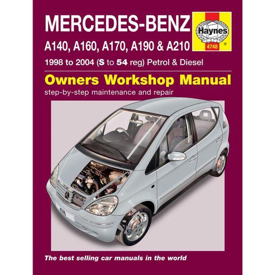 MERCEDES-BENZ A-CLASS PETROL & DIESEL (1998 - 2004), , scaau_hi-res