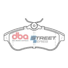 DBA SS STREET SERIES BRAKE PADS [ Citreon C2/C3 2002 - 2010 F ], , scaau_hi-res