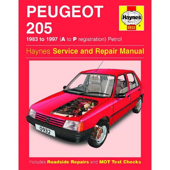 PEUGEOT 205 PETROL (1983 - 1997), , scaau_hi-res