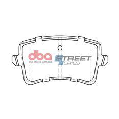 DBA SS STREET SERIES BRAKE PADS [ Audi A4/A5/A6/Q5 2008 - 2017 R ], , scaau_hi-res