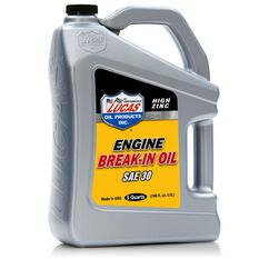 MOTOR OIL, RACE ONLY, BREAK-IN, MINERAL, 30W 4.73L