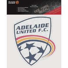 ADELAIDE UNITED ITAG SEE THRU DECAL