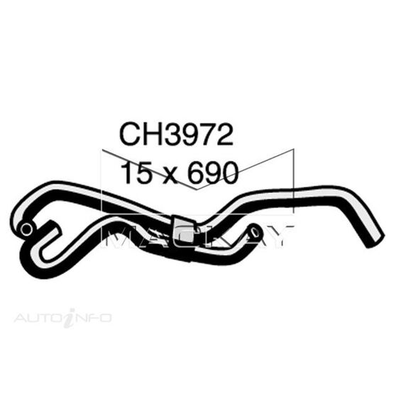 ByPass Hose VOLKSWAGEN Polo   classic 1.9 TDi SDi  Oil cooler to pipe*, , scaau_hi-res
