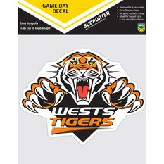 WESTS TIGERS ITAG GAME DAY DECAL