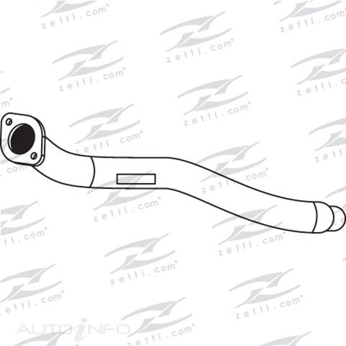 Spareco Engine Pipe