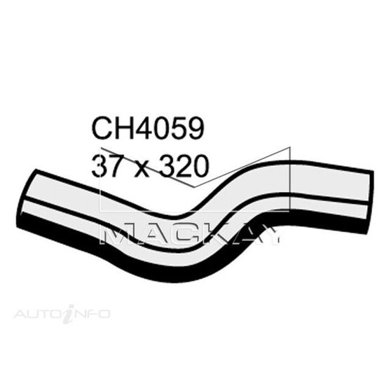 Radiator Lower Hose  - HOLDEN RODEO RA - 3.0L I4 Turbo DIESEL - Manual & Auto, , scaau_hi-res