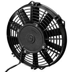 """12"""" ELECTRIC THERMO FAN STRAIGHT BLADES - PUSHER TYPE"""