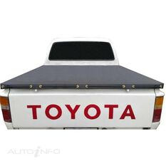 HILUX DUAL CAB J DECK WITHOUT SPORTS BAR, HEADBOARD ROPE UTE TONNEAU COVER, , scaau_hi-res