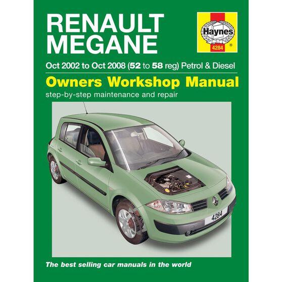 RENAULT MEGANE PETROL & DIESEL (2002 - 2008), , scaau_hi-res