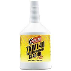 REDLINE GEAR OIL 75W-140 GL5 1 QUART, , scaau_hi-res