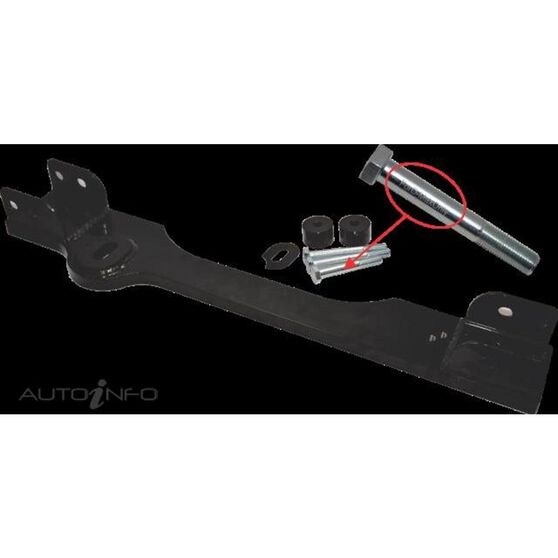 4WD - HOLDEN COLORADO / ISUZU DMAX 6/12-ON FRONT DIFF DROP KIT, , scaau_hi-res