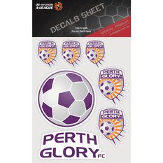 PERTH GLORY ITAG DECALS SHEET