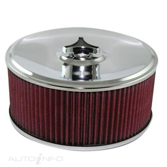 A/FORCE COTTON FILTER 9IN DIA ASSY HOLLEY 4IN H