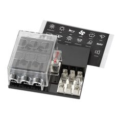 6 WAY FUSE BLOCK WITH GROUND, , scaau_hi-res
