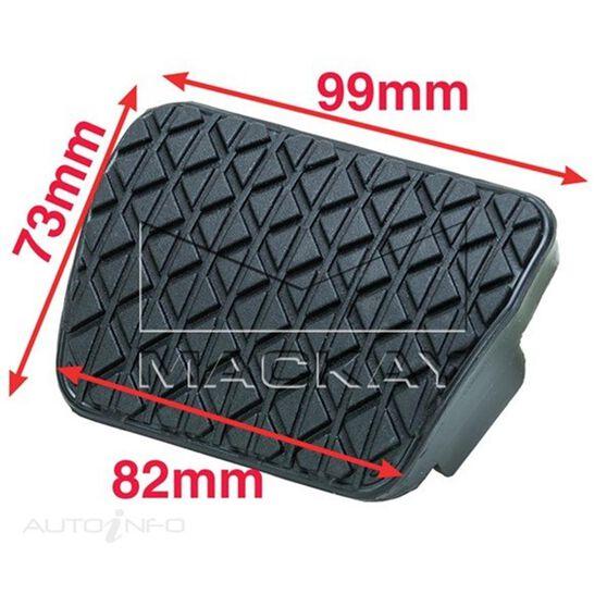 Pedal Pad Brake Mazda 2 , Automatic Trans DE 4CYL - 1.5L, , scaau_hi-res
