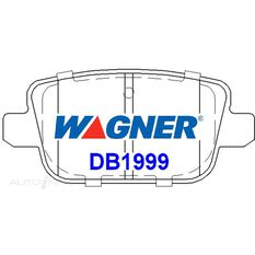 Wagner Brake pad [ Ford/Landrover/Proton & Volvo 2007-2014 R ], , scaau_hi-res