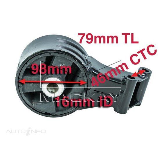 Engine Mount Rear - SAAB 9-3 . - 2.0L I4 Turbo PETROL - Manual & Auto, , scaau_hi-res