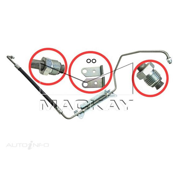 Power Steering Hose - Pressure - Adventra/Cross 8 VYII (V8), , scaau_hi-res
