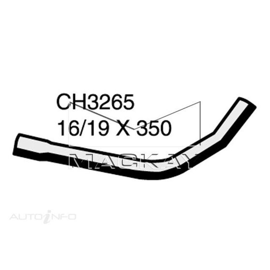 Heater Hose  - MAZDA 929 HD - 3.0L V6  PETROL - Manual & Auto, , scaau_hi-res