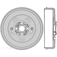 PTX KIA SPORTAGE 2.0L REAR 3/98 - 5/03, , scaau_hi-res