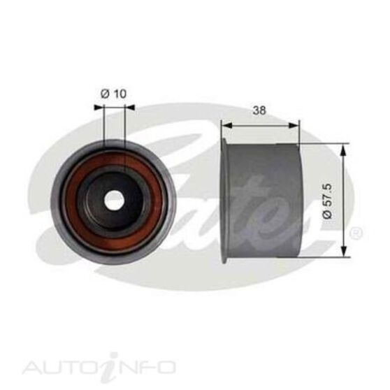 T42018 SBDS IDLER PULLEY, , scaau_hi-res