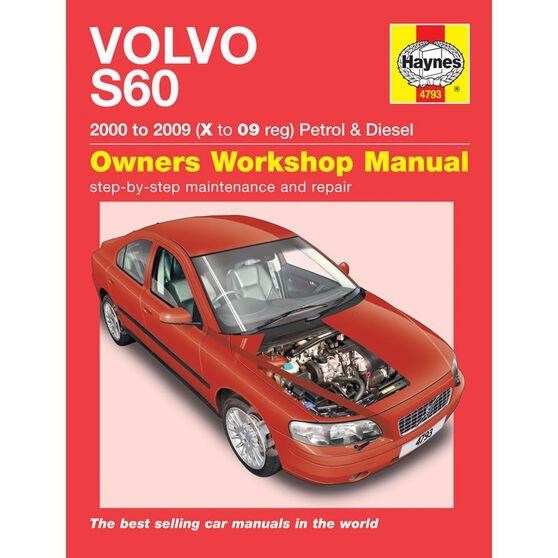 VOLVO S60 PETROL & DIESEL (2000 - 2009), , scaau_hi-res