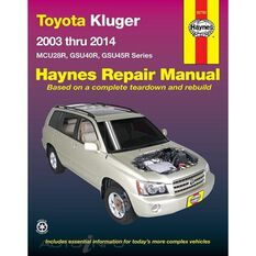 TOYOTA TOYOTA KLUGER 2003-2014, , scaau_hi-res