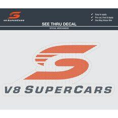 V8 SUPERCARS ITAG SEE-THRU LOGO