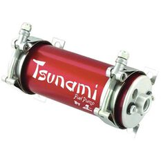 AEROMOTIVE TSUNAMI FUEL PUMP IN LINE, -8 INL AND -6 OUT