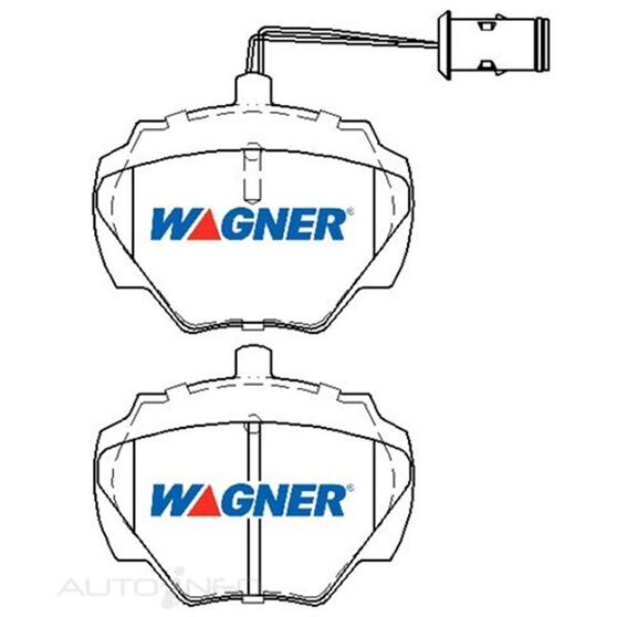 Wagner Brake pad [ Landrover & Range Rover 1990-1999 R ], , scaau_hi-res