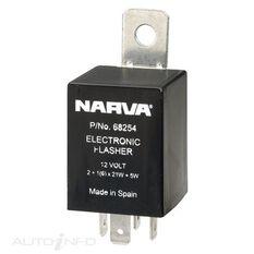 ELEC. FLASHER 12V 4 PIN BL