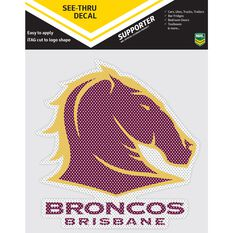 BRONCOS ITAG SEE-THRU DECAL