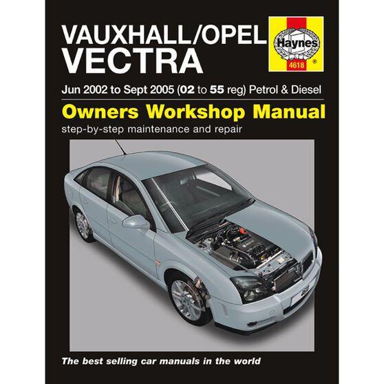 VAUXHALL/OPEL VECTRA PETROL & DIESEL (2002 - 2005), , scaau_hi-res