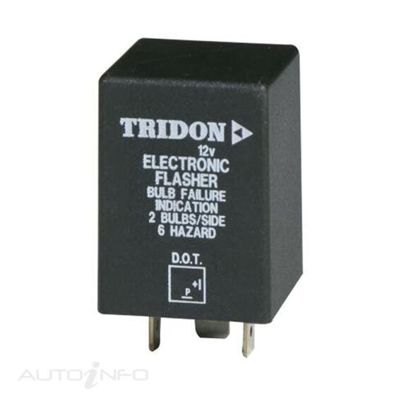 FLASHER 12V 2PIN OUTAGE BOXED (EA), , scaau_hi-res