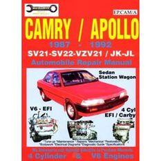 REPMAN  CAMRY/APOLLO  JK JL SV21/22 VZV21 1987-1992 9780876720127, , scaau_hi-res