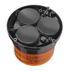 LED BEACON 10-30V AMBER MAGNETIC 134MM H X 167MM 12V ACC SOCKET