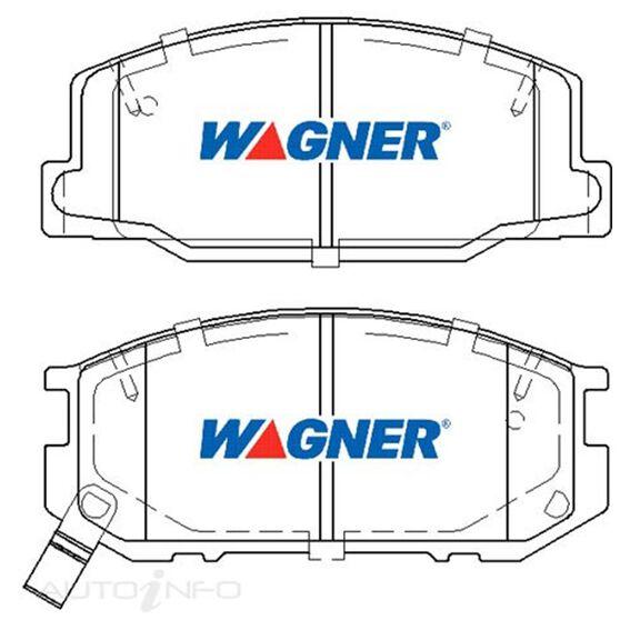 Wagner Brake pad [ Toyota 1990-2000 F ], , scaau_hi-res
