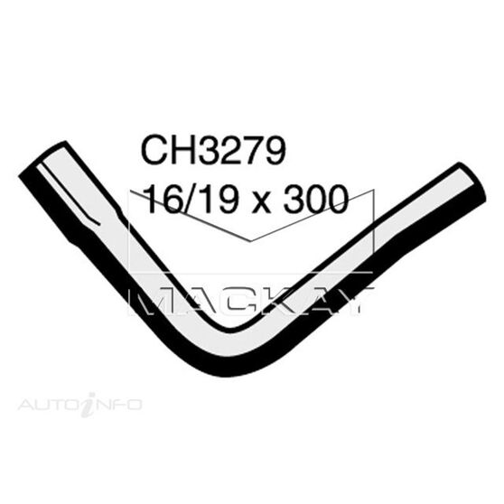 Heater Hose FORD Crown Victoria  4.6 Litre Heater to pipe 1*, , scaau_hi-res