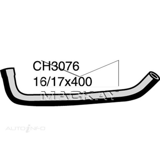 Heater Hose  - TOYOTA LANDCRUISER HZJ80R - 4.2L I6  DIESEL - Manual & Auto, , scaau_hi-res