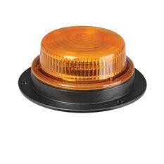 LED BEACON 10-30V AMBER - 46MM H X 128MM BASE