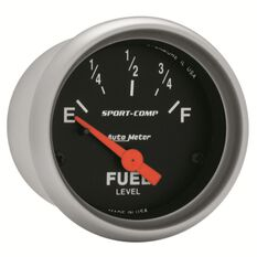 """SPORT-COMP 2-1/16"""" FUEL LEVEL 0-90 OHM, SHORT SWEEP ELECTRIC"""