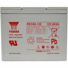 REC80-12 VRLA Battery