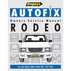 HOLDEN  RODEO KB TF (P) 1985-1996