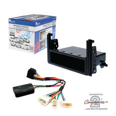 INSTALL KIT TO SUIT VARIOUS TOYOTA VEHICLES (BLACK), , scaau_hi-res