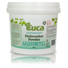 EUCA DISHWASHER POWDER PEPPERMINT 4KG, , scaau_hi-res