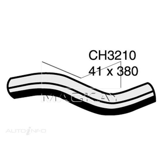 Radiator Upper Hose  - TOYOTA LANDCRUISER HDJ100R - 4.2L I6 Turbo DIESEL - Manual & Auto, , scaau_hi-res