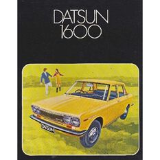 SERVMAN  DATSUN 1600CC 9780909969059