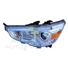 LH HEADLAMP LH H/L X# ASX 5DR 7/10-5/14 & 11/16- WP